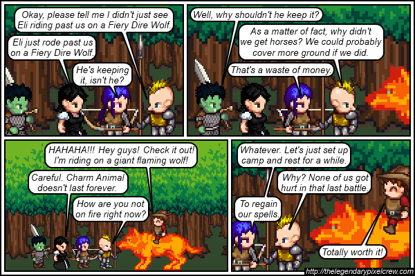 """Strip 285 - """"All the other Adventurers are doing it"""""""