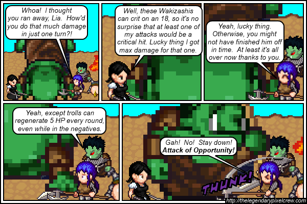 """Strip 312 - """"Okay, here's what really happened"""""""