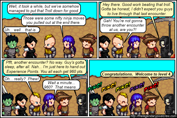 "Strip 314 - ""Welcome to level 4"""
