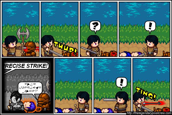 """Strip 327 - """"A new challenger?"""""""