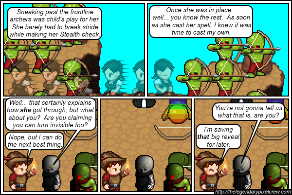 """Strip 352 - """"Remember what Pathfinder Druids can do when they reach level 4?"""""""
