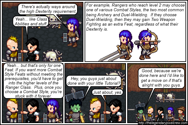 "Strip 389 - ""Two-Weapon Fighting part 3"""