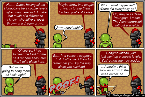 "Strip 405 - ""Sounds like someone's thinking about early retirement"""