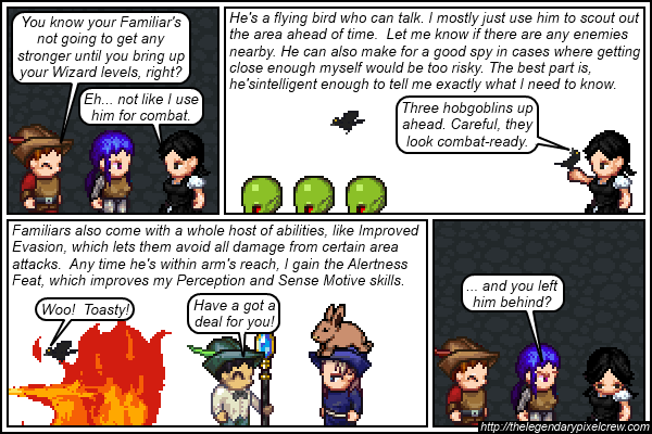"Strip 471 - ""Familiars Part 2"""