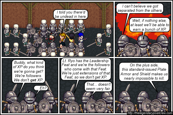 """Strip 495 - """"The Leadership Feat - Part 1"""""""