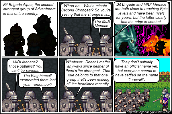 """Strip 500 - """"Those with the best chance of defeating the Tower of Ansuz"""""""