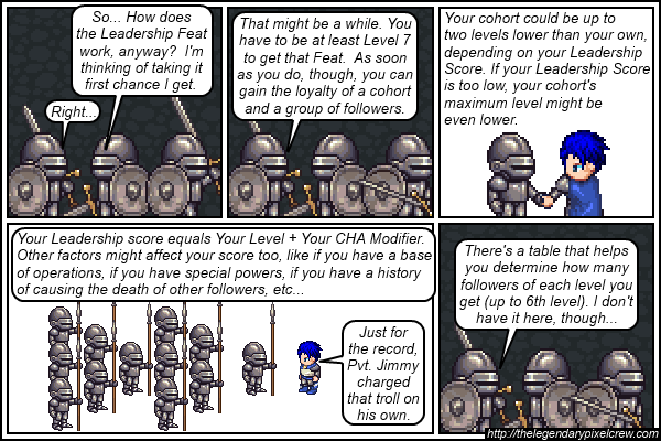 "Strip 496 - ""The Leadership Feat - Part 2"""