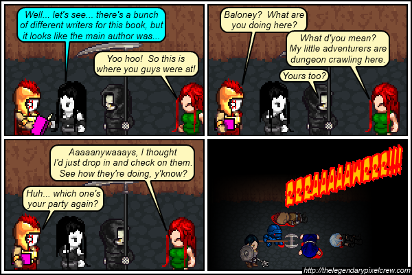 """Strip 512 - """"Time to name another adventuring party"""""""