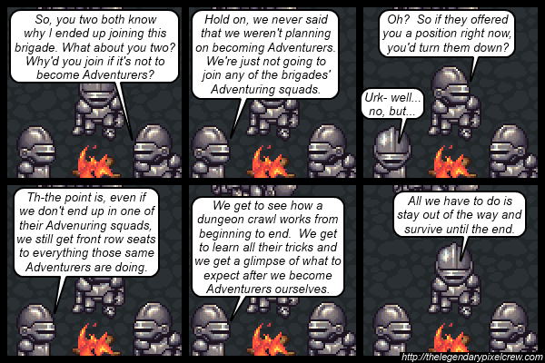 """Strip 538 - """"Maybe they should've went straight to being Adventurers after all"""""""