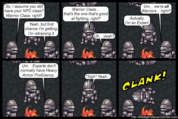 "Strip 539 - ""NPC Classes"""
