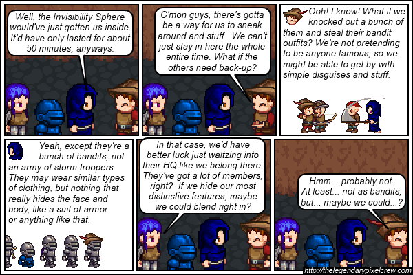 "Strip 570 - ""Probably should've planned this out sooner while the others were still here"""