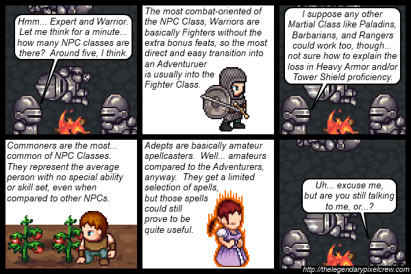 "Strip 540 - ""NPC Classes part 2"""