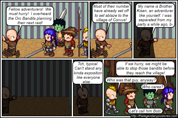 """Strip 037 - """"It's a very common name around these parts..."""""""