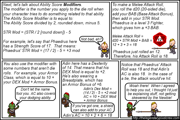 "Strip 053 - ""Hope you already know your basic math"""