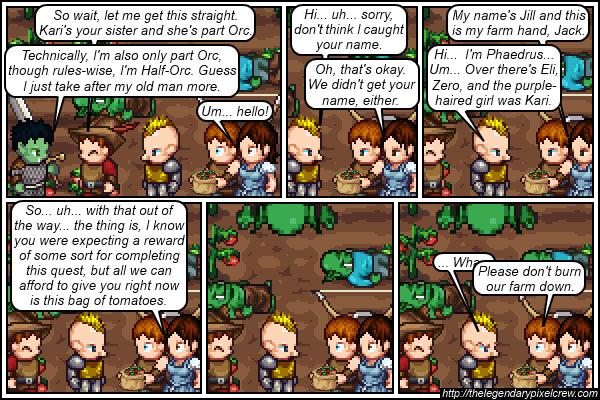 "Strip 080 - ""... Cue the Zelda theme?"""