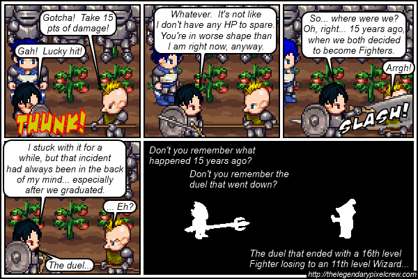"Strip 104 - ""Phaedrus vs. Gaius - Round 2"""