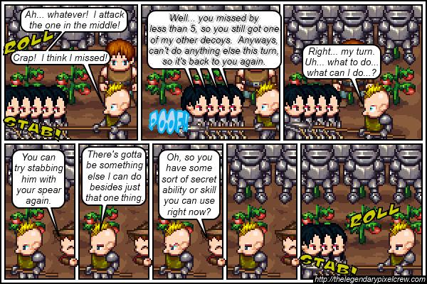 """Strip 110 - """"Phaedrus vs. Gaius - Round 5"""""""