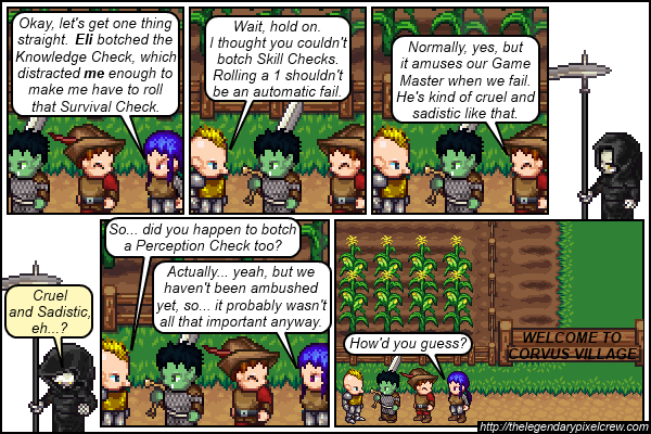 "Strip 127 - ""This is going to become a thing, isn't it?"""