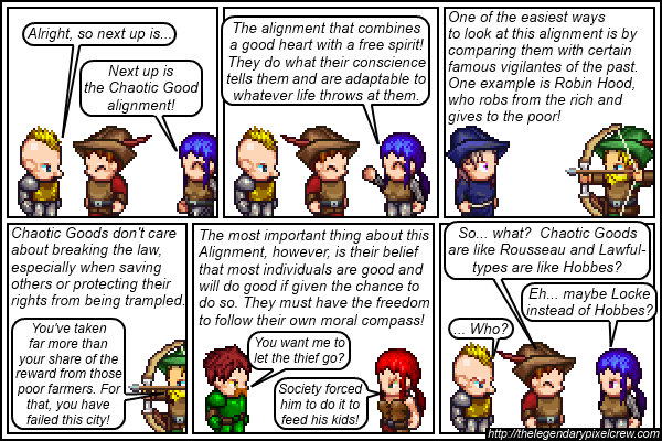 Strip 140 - Alignment Tutorial - Part 6 (Chaotic Good)