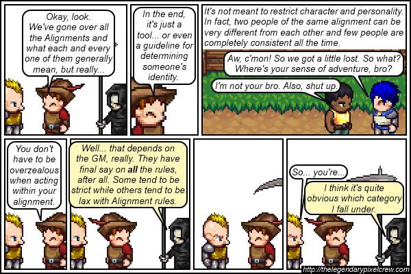 Strip 151 - Alignment Tutorial - Part 17