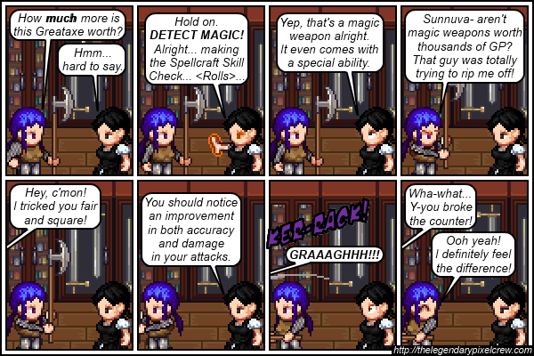 Strip 156 - Getting your money's worth