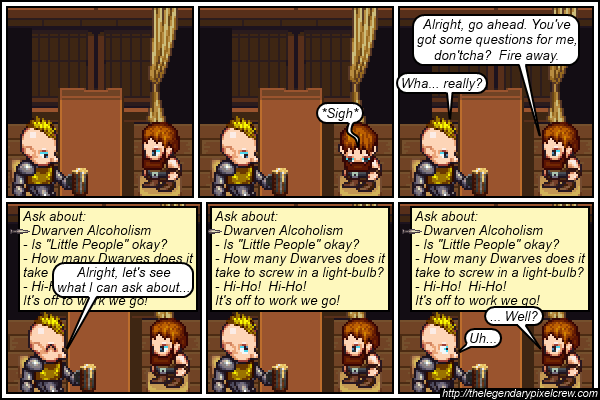 "Strip 171 - ""The Dialogue Options Box"""