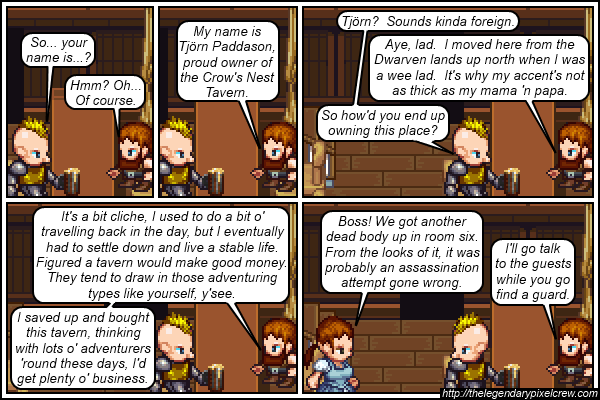 "Strip 174 - ""Now he knows what it's like"""