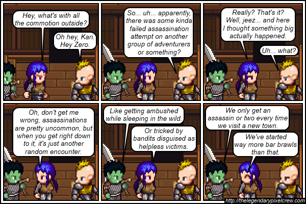 """Strip 181 - """"Also beware of pickpockets, tipped over wagons, and anyone who offers you food"""""""