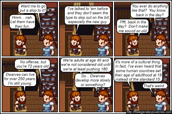 "Strip 197 - ""Cultural or Biological Dissonance?"""