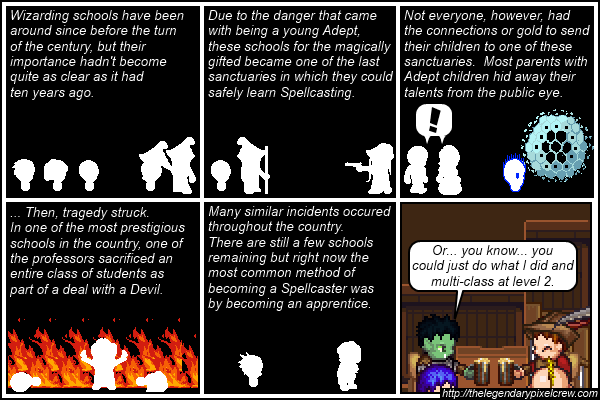 """Strip 210 - """"The safer route"""""""