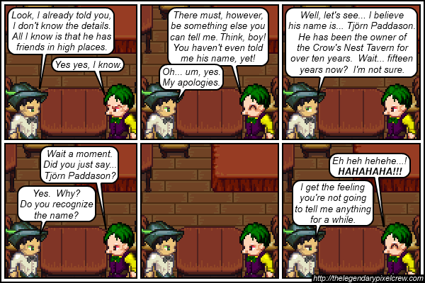 "Strip 216 - ""Clues within the past part 2"""
