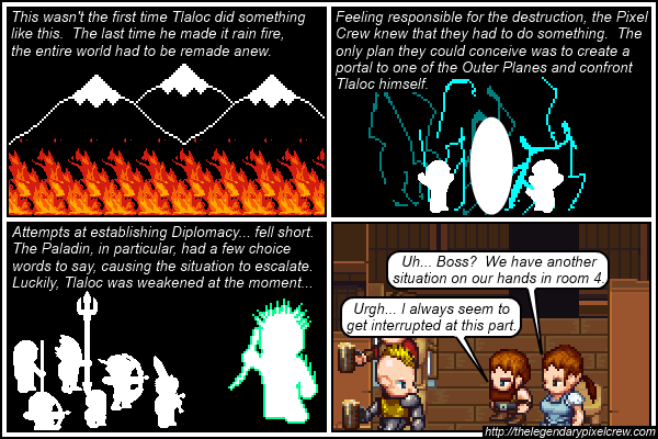 "Strip 219 - ""Clues within the past part 5"""